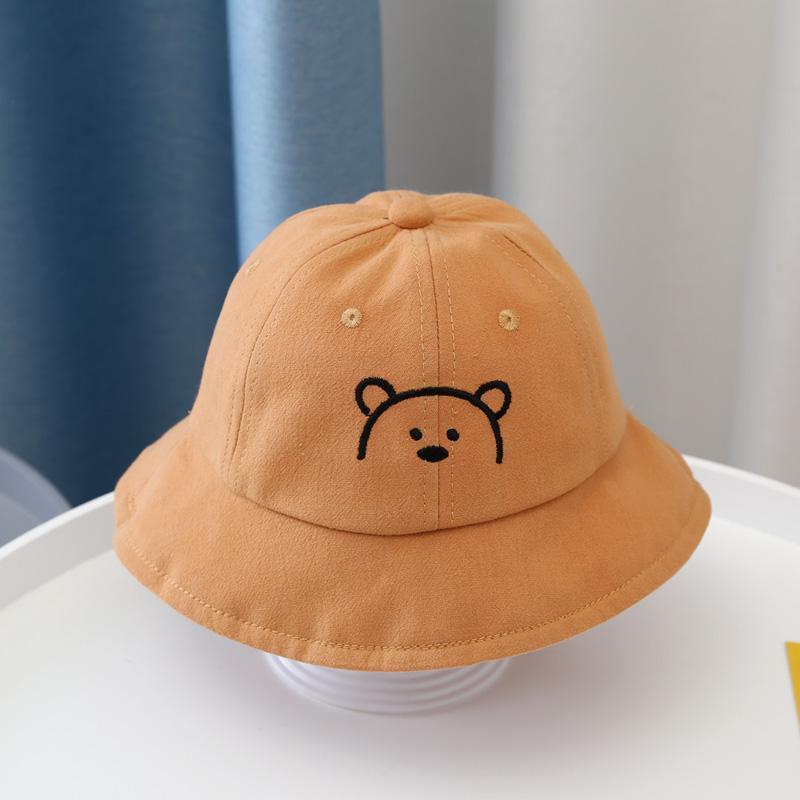 婴儿防飞沫帽春秋薄款男女宝宝可拆卸防疫渔夫帽任务3