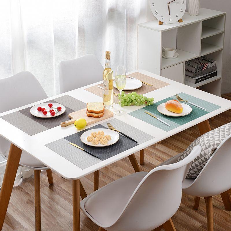 北欧隔热餐桌垫简约现代西餐垫日式轻奢防水防油防热垫餐垫布