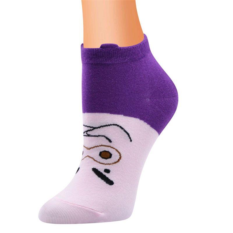 法国油画袜子男中筒袜女ins潮欧美街头创意抽象复古风情侣长袜125
