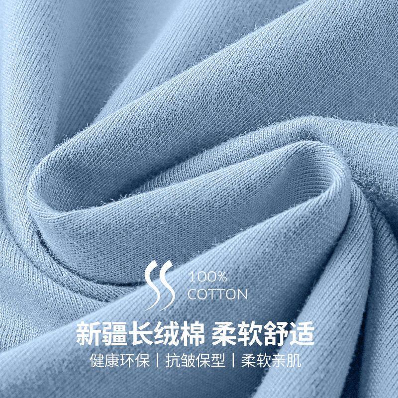 纯棉短袖t恤男士夏季潮流圆领半袖新款韩版宽松百搭体恤男装上衣 166
