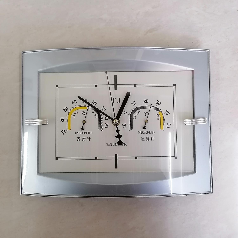 室内温度计带时钟