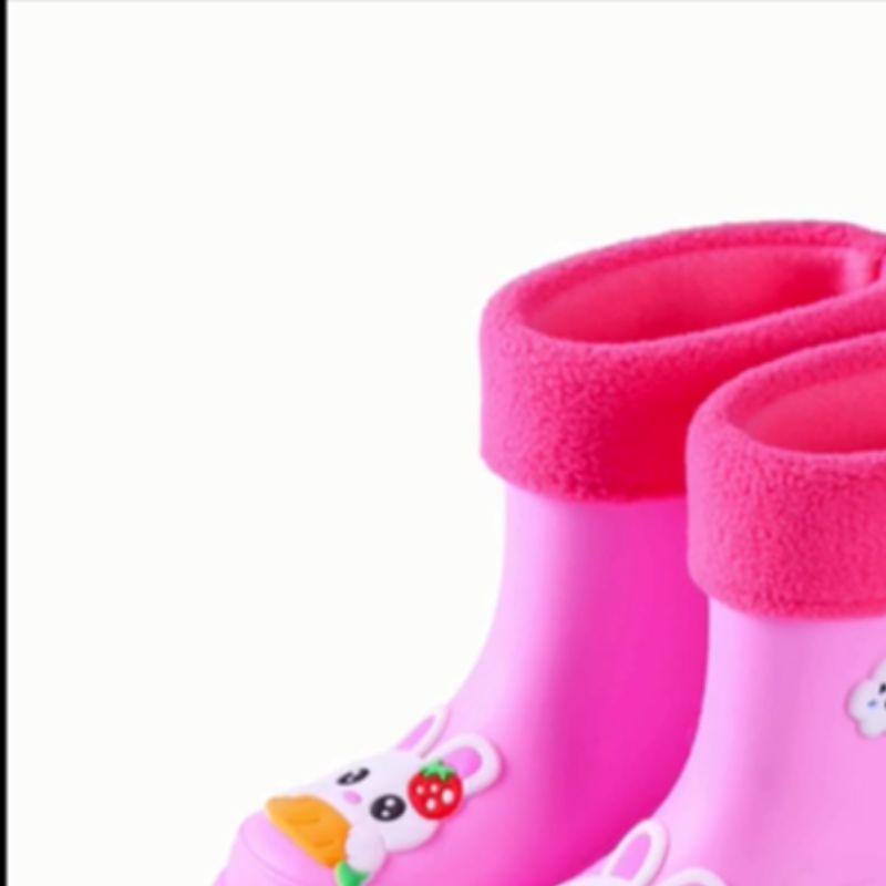 时尚花布高筒成人雨鞋女长筒水鞋防滑耐磨工雨靴厂家代发867