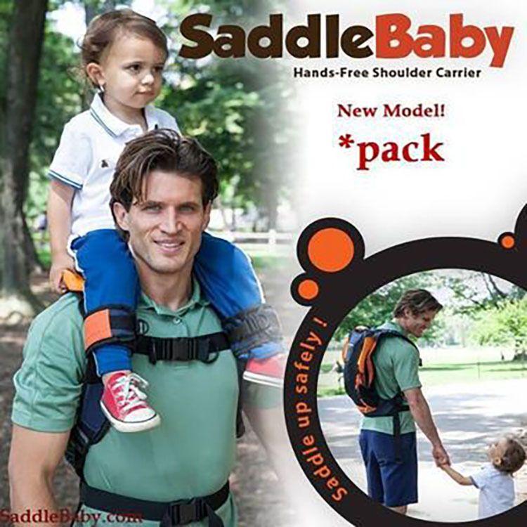 G厂家直销现货马鞍肩背包SaddleBaby pack肩坐凳