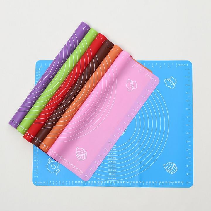 硅胶垫揉面垫 硅胶垫 耐高温烘焙擀面垫防滑不粘案板4565