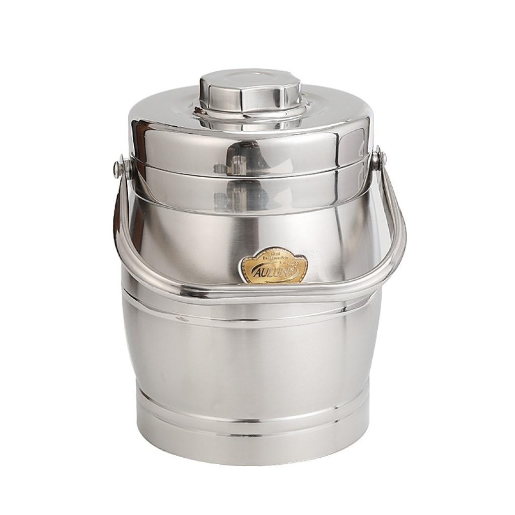 义乌好货 大容量保温饭盒三层 不锈钢便携提锅饭桶
