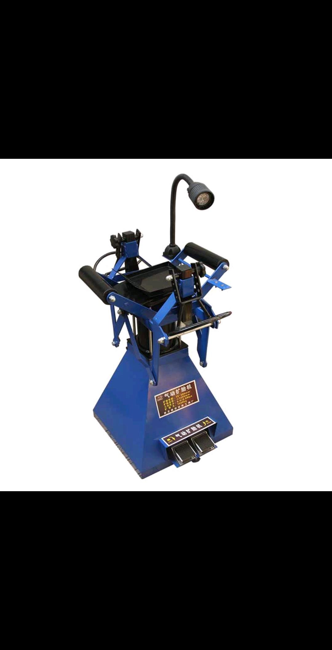 轮胎撑开器脚踏式气动扩胎机轮胎撑开器汽修补胎设备带灯自动扩胎器