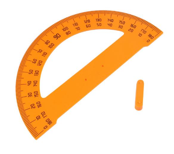 003教学量角器适用于老师和学生用的