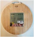 ZB2282  橡胶木砧板Φ36*2.8CM  12片/箱  橡胶木