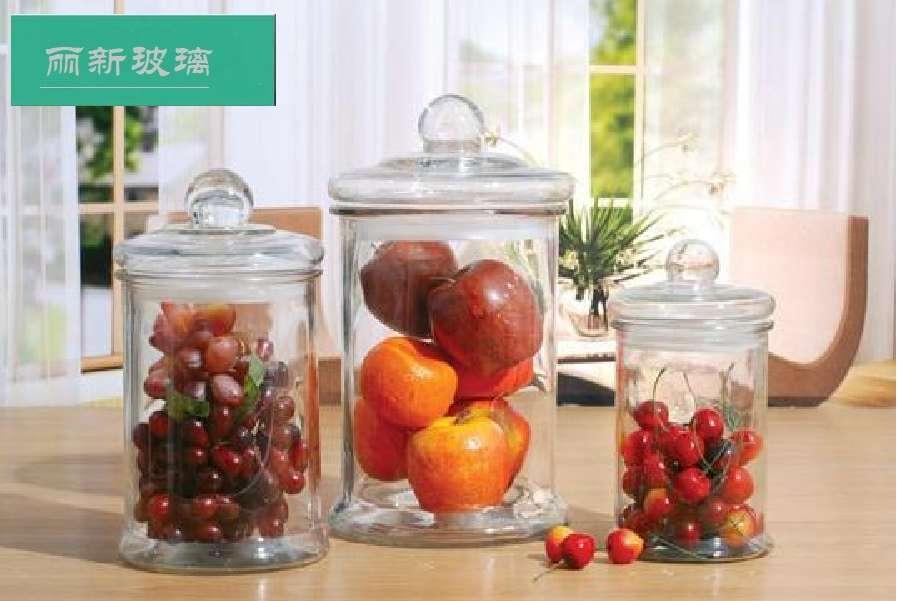 玻璃茶叶罐.干果罐.储存罐.玻璃瓶.玻璃罐