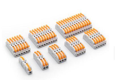 厂家直销pct接线端子快速线对线连接器尼龙绝缘端子现货批发