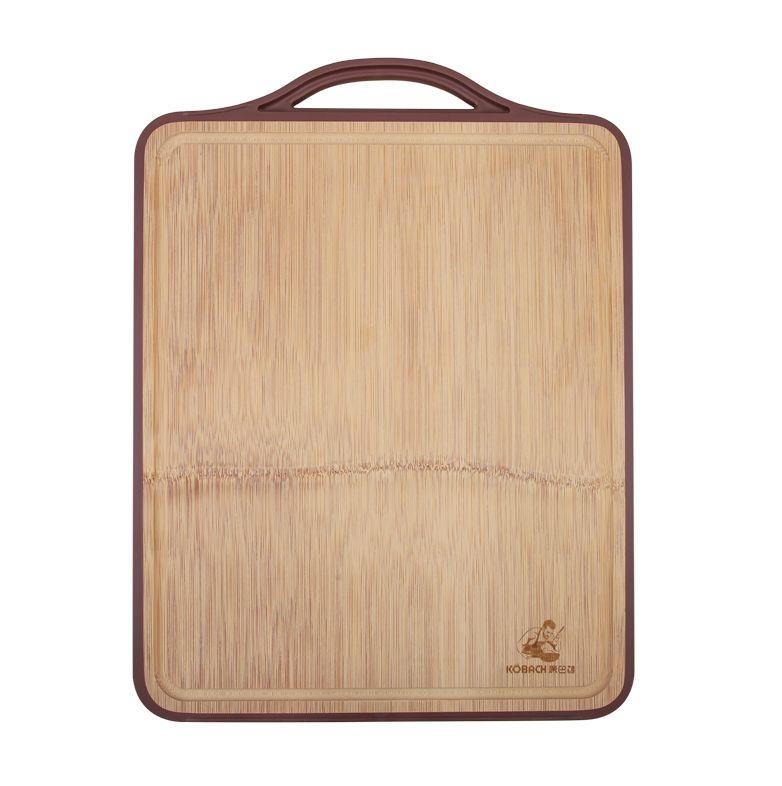 德国康巴赫整竹菜板双面案板厨房家用砧板切菜板抗菌防霉实木塑料