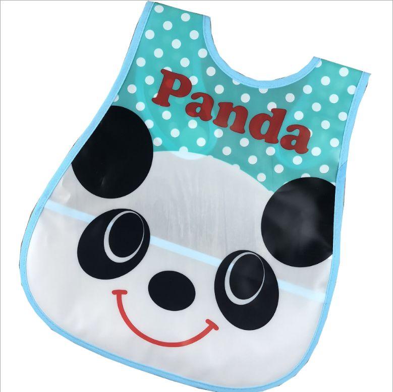 儿童围兜 婴儿口水巾 魔术贴防脏防水围嘴