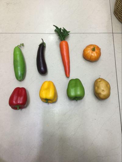 仿真水果蔬菜假水果摄影道具幼儿启蒙认知