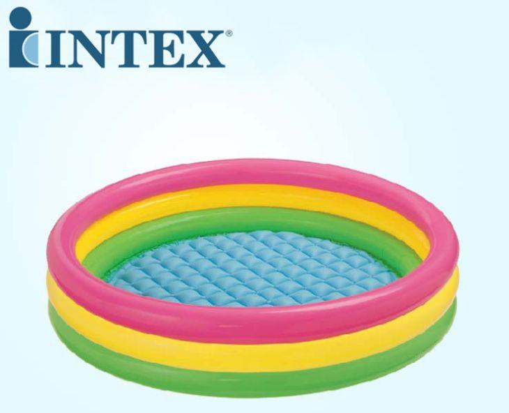 INTEX三环彩虹水池 57412