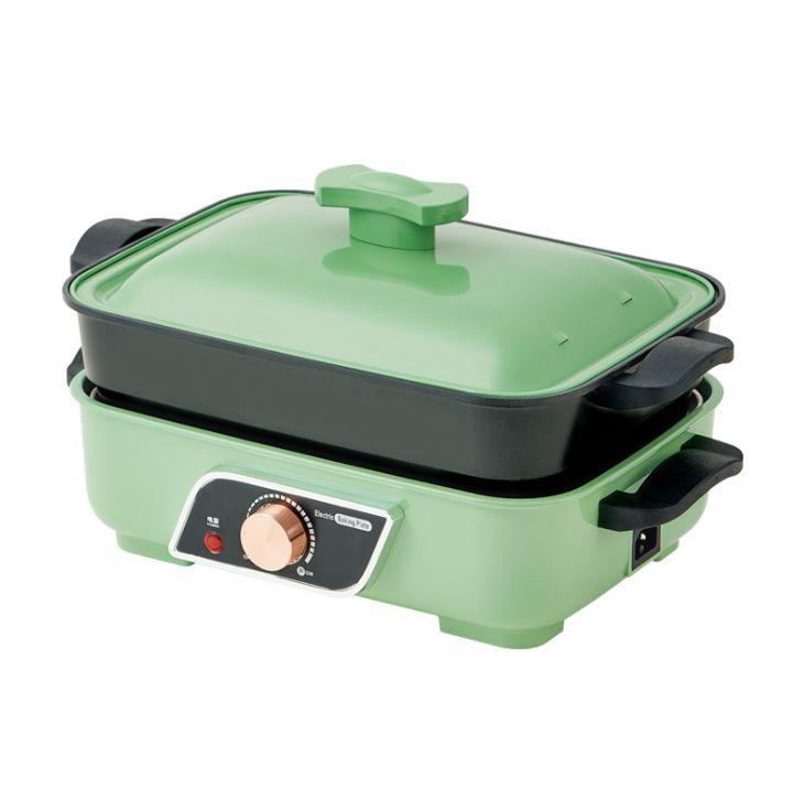 多功能电烤炉家用火锅烧烤一体锅多功能烤肉盘电烤盘烤肉锅烤鱼炉