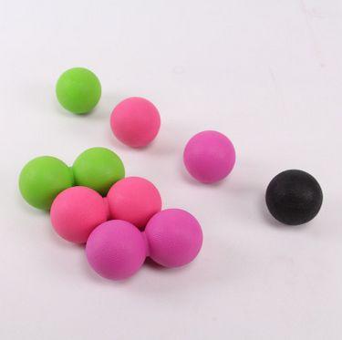 TPE筋膜球 按摩球健身 曲棍球 肌肉放松球   量大价格请咨询客服