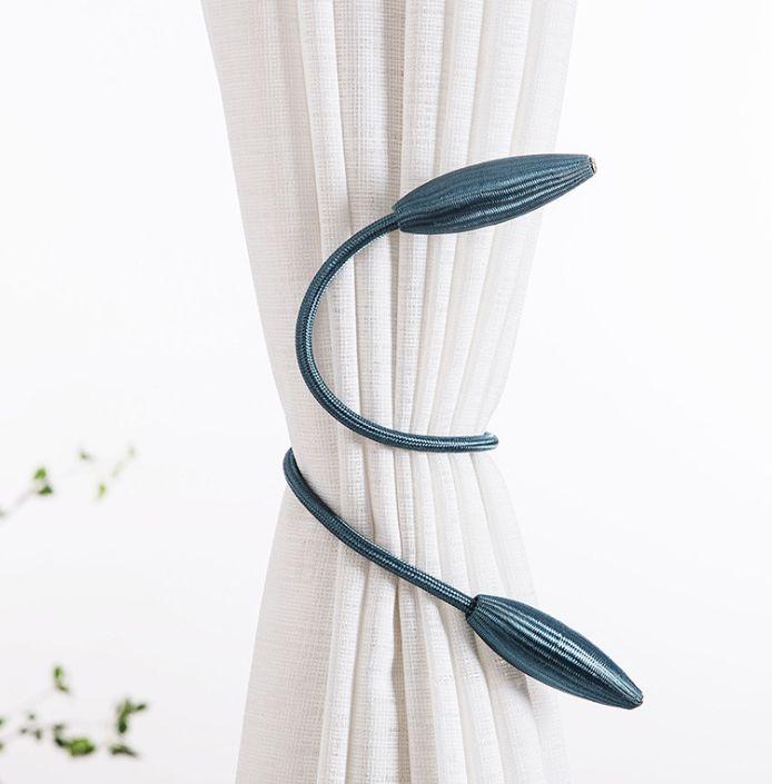 免打孔安装窗帘绑绳