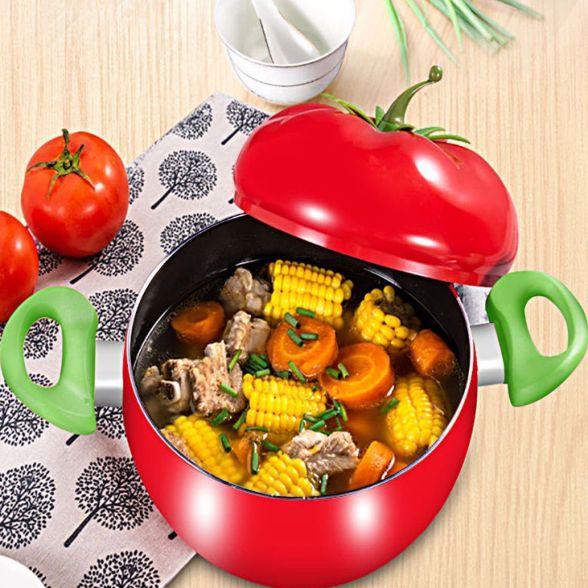 番茄汤锅蒸锅煮奶小炖锅电磁炉