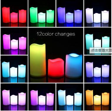 3件套LED仿真蜡烛灯