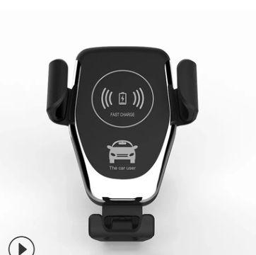 汽车用出风口支架重力感应车充无线手机快充