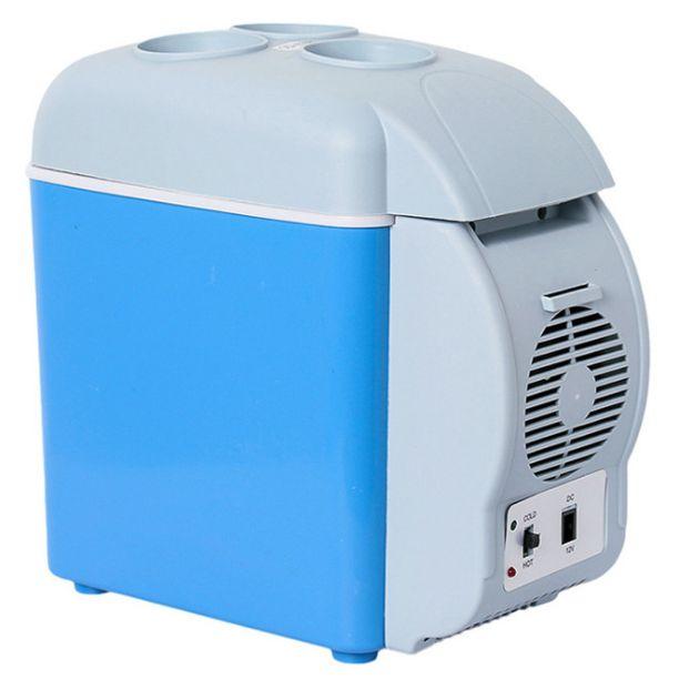 7.5L车载冷暖箱 便携式车载冰箱7.5升车用冷藏箱