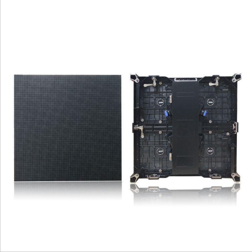 P4.81铸铝箱体室内全彩LED显示屏箱压租赁箱体