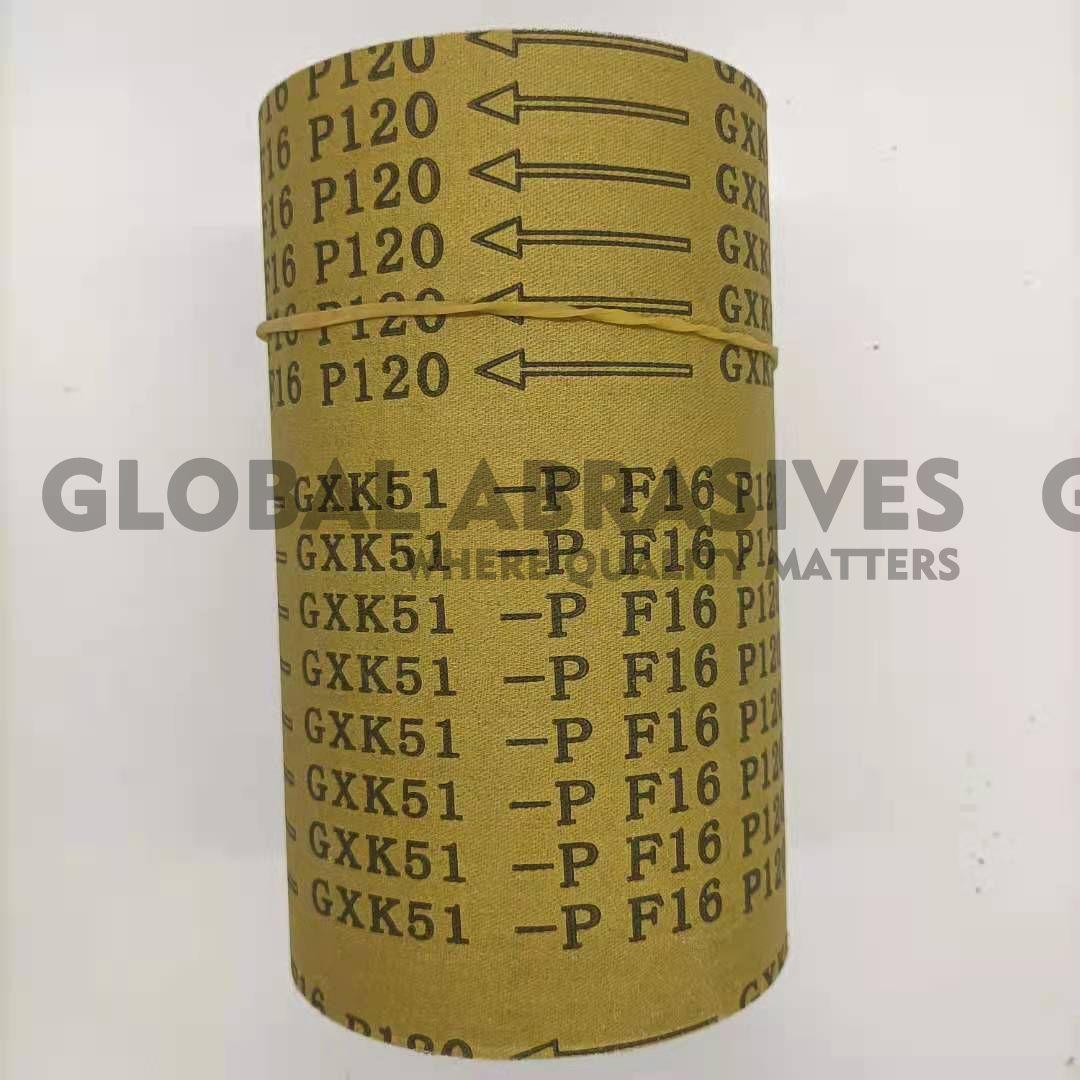 GXK51-F砂布卷红砂金属抛光打磨机用内销外贸定制现货工具配件