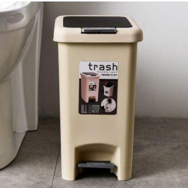 脚踏式垃圾桶家用卫生间客厅厕所厨房带盖脚踩大号拉圾筒