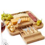 木制芝士盘 奶酪板 餐盘 水果盘 套装带刀