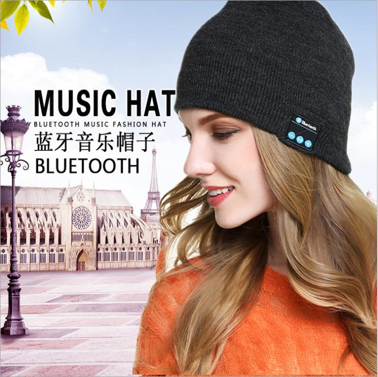 无线蓝牙帽子 通话 音乐 户外 无线蓝牙耳机