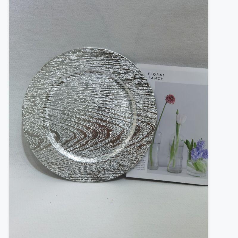 塑料盘,婚庆盘餐垫盘水果盘西餐盘电镀盘塑料多功能盘
