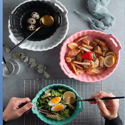 陶瓷小号菊花碗