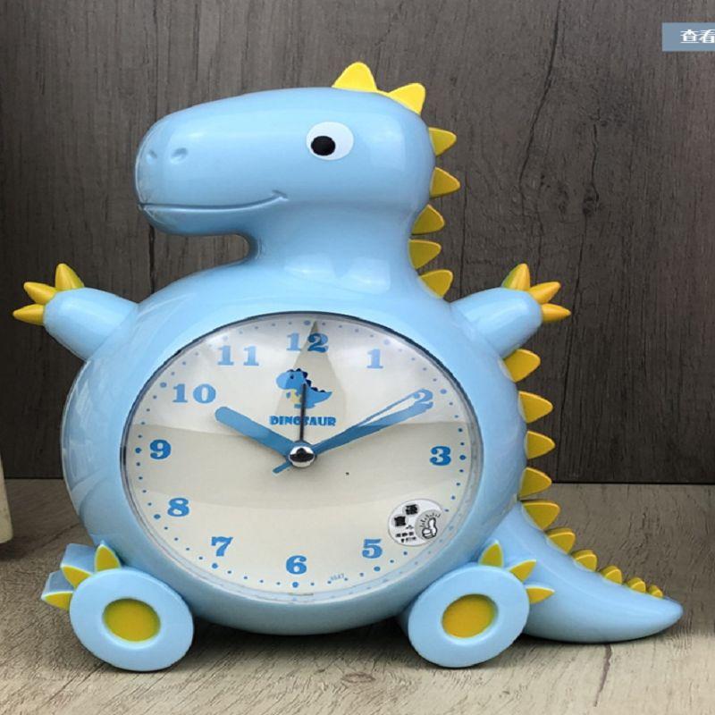 学生闹钟儿童时钟台钟创意时尚金属闹钟卧室静音夜光台钟