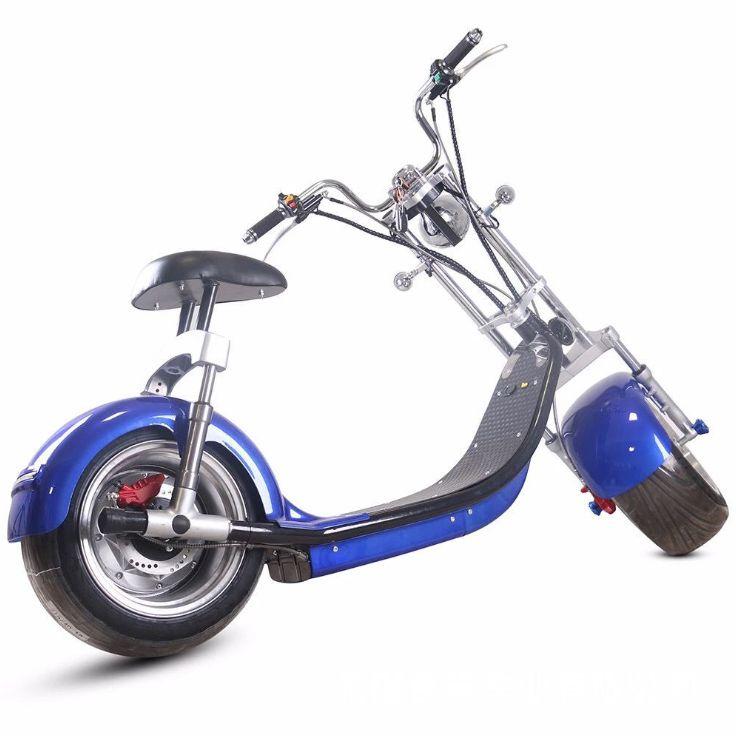 哈雷电动车双人座电动代步自行车成人太子摩托踏板车