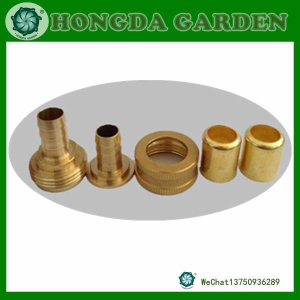 12花园管接头 园林4分水管接头 铜接头 4分花园管接头
