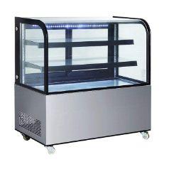 400L立式冷藏展示柜商用商用台式带轮冷 藏柜食品保鲜柜