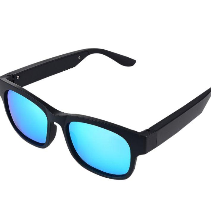智能蓝牙眼镜耳机蓝牙5.0立体声蓝牙户外太阳眼镜外放喇叭防水IP4编