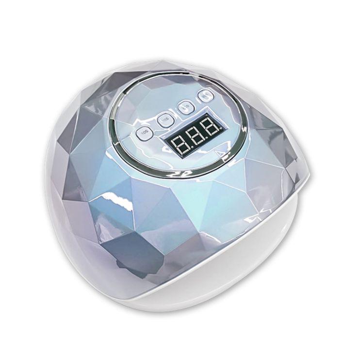 110W美甲灯电镀炫彩F6 LED光疗机智能感应四档定时甲油胶烤灯跨境