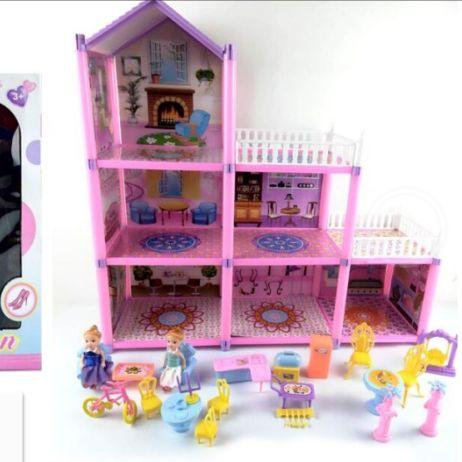 DSJ892开窗盒儿童趣味少女心DIY别墅乐园