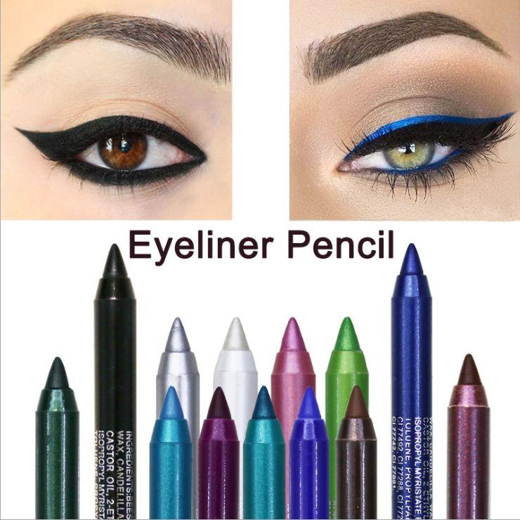 彩色眼线笔