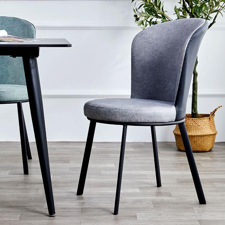 吕字家具-北欧轻奢餐椅家用电脑椅靠背现代宾馆椅子简约铁艺餐厅酒店椅子