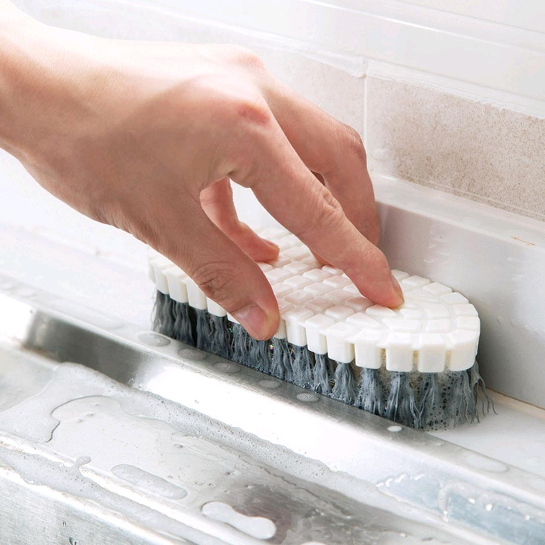 S42-A-387厨房灶台清洁刷灶台刷卫生间浴缸瓷砖刷浴室刷洗衣刷