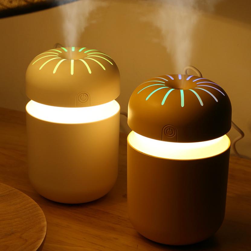 新品创意暮光加湿器 USB迷你家用桌面空气净化器车载加湿器