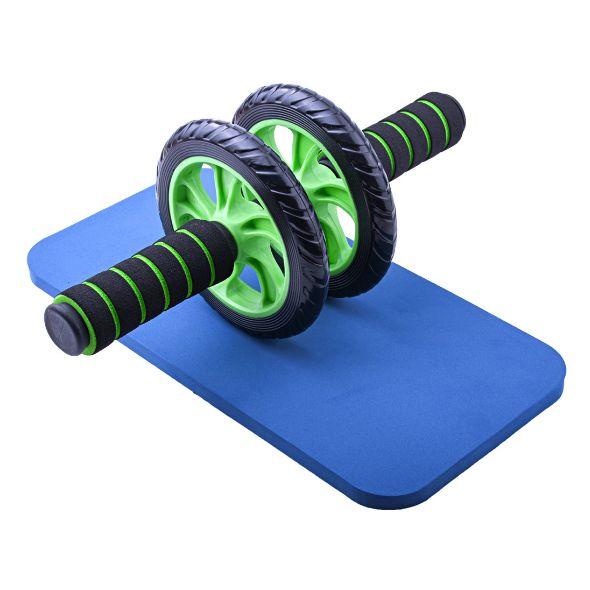 运动滚轮腹肌器材