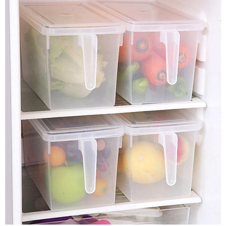 手柄冰箱收纳盒