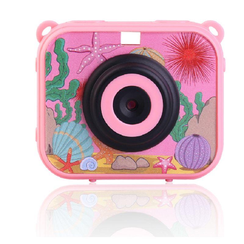 儿童相机1080P高清小游戏MP3防水相机户外运动相机摄像机兒童相機