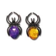 宝石蜘蛛戒指4个装