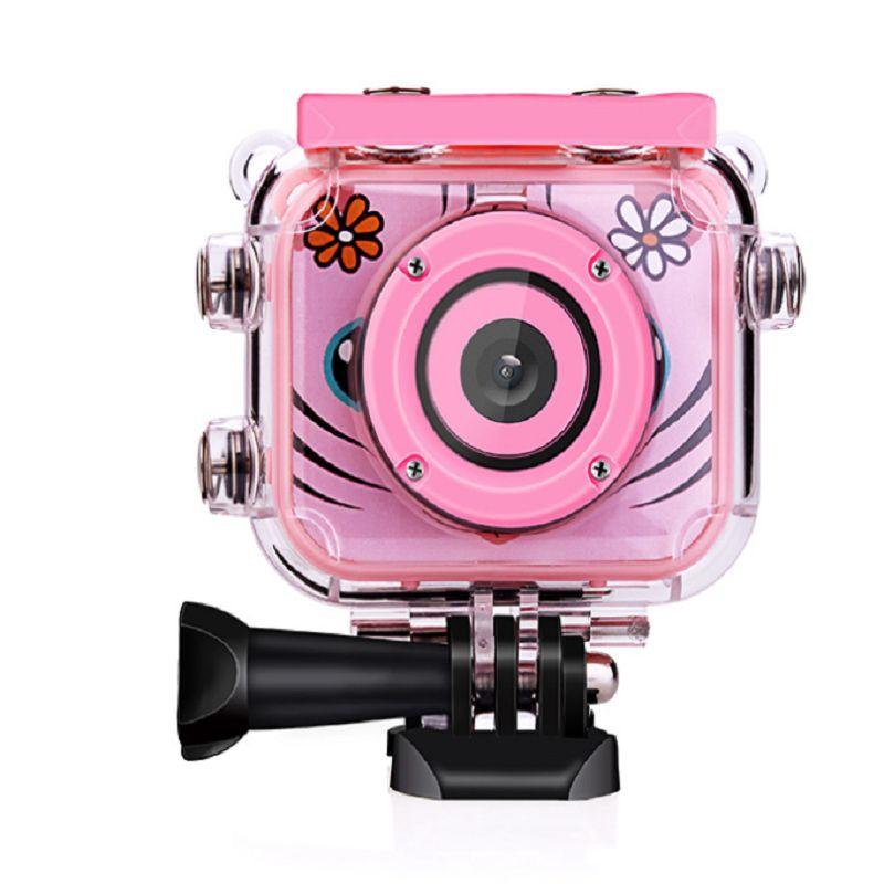 儿童相机1080P高清防水运动相机儿童摄像机照相机玩具礼品