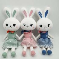 梦幻毛绒玩具迷你公主兔特1号125厘米呆萌毛绒