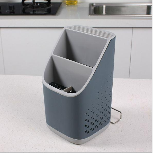 新款免打孔沥水收纳盒